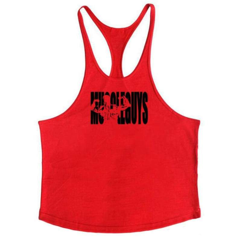 Golds Gym Tank Top Just For You - red164 / M - Tank Tops