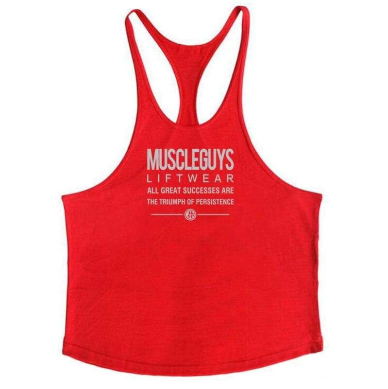 Golds Gym Tank Top Just For You - red168 / M - Tank Tops