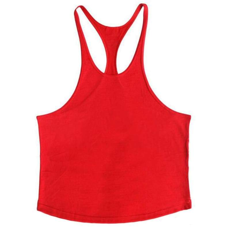 Golds Gym Tank Top Just For You - red blank / XL - Tank Tops
