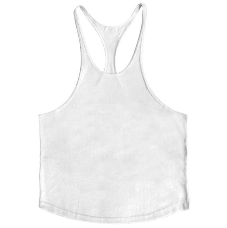 Golds Gym Tank Top Just For You - white blank / XL - Tank Tops