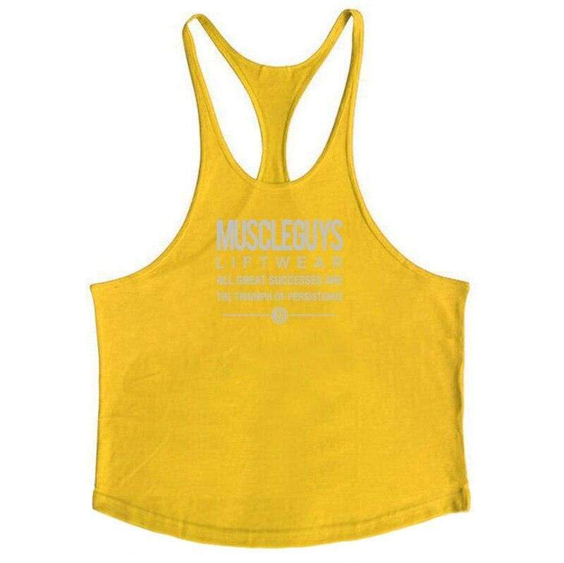Golds Gym Tank Top Just For You - yellow168 / XL - Tank Tops