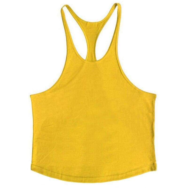 Golds Gym Tank Top Just For You - yellow blank / XL - Tank Tops