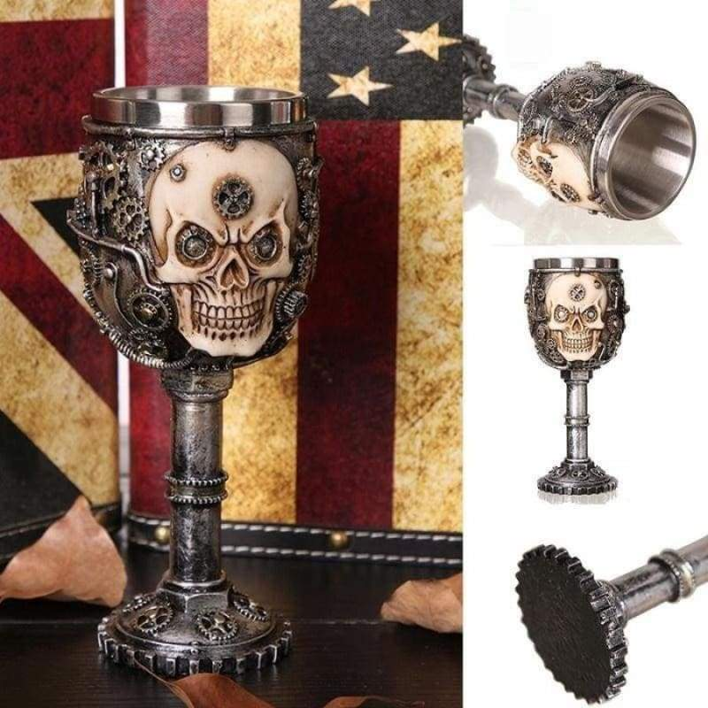 Gothic Skull Cup Just For You - Mugs
