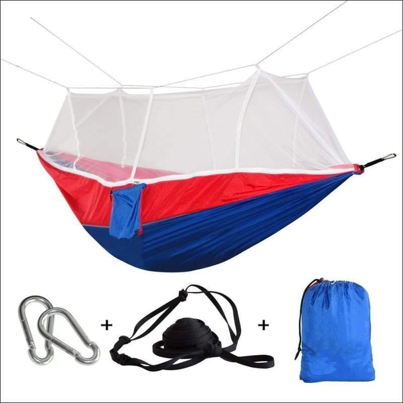 Hammock Tree Tent - blue red - Hammock Tree Tent