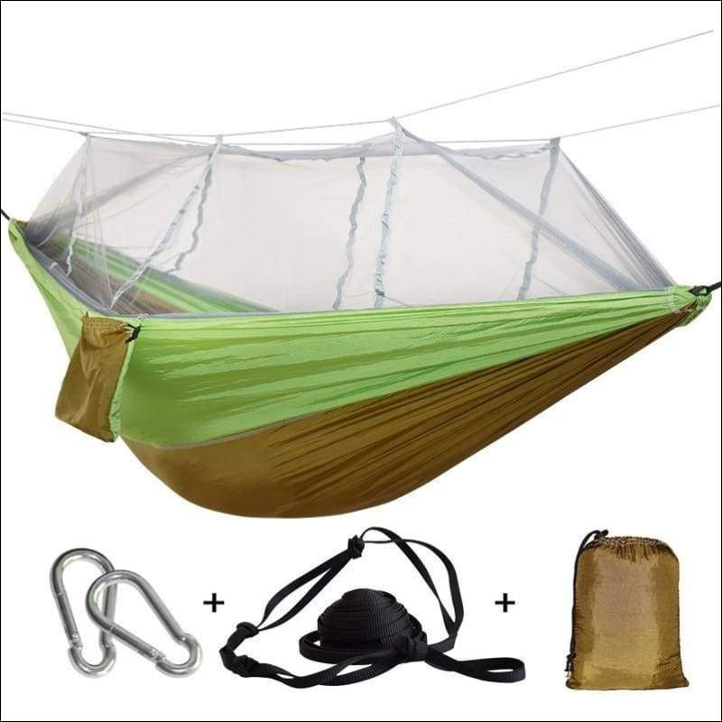 Hammock Tree Tent - brown green - Hammock Tree Tent