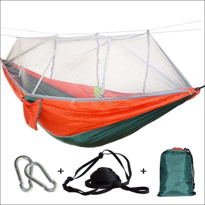 Hammock Tree Tent - green red - Hammock Tree Tent