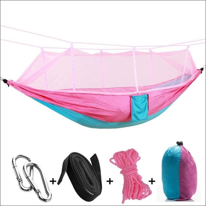 Hammock Tree Tent - pink blue - Hammock Tree Tent