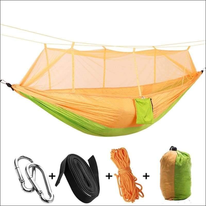 Hammock Tree Tent - yellow green - Hammock Tree Tent