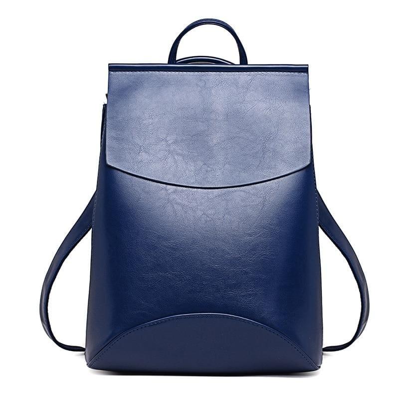 High Quality Women Backpack - Blue - Backpacks