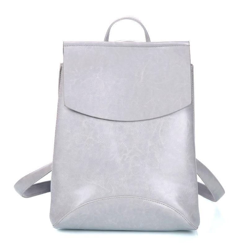 High Quality Women Backpack - Gray - Backpacks