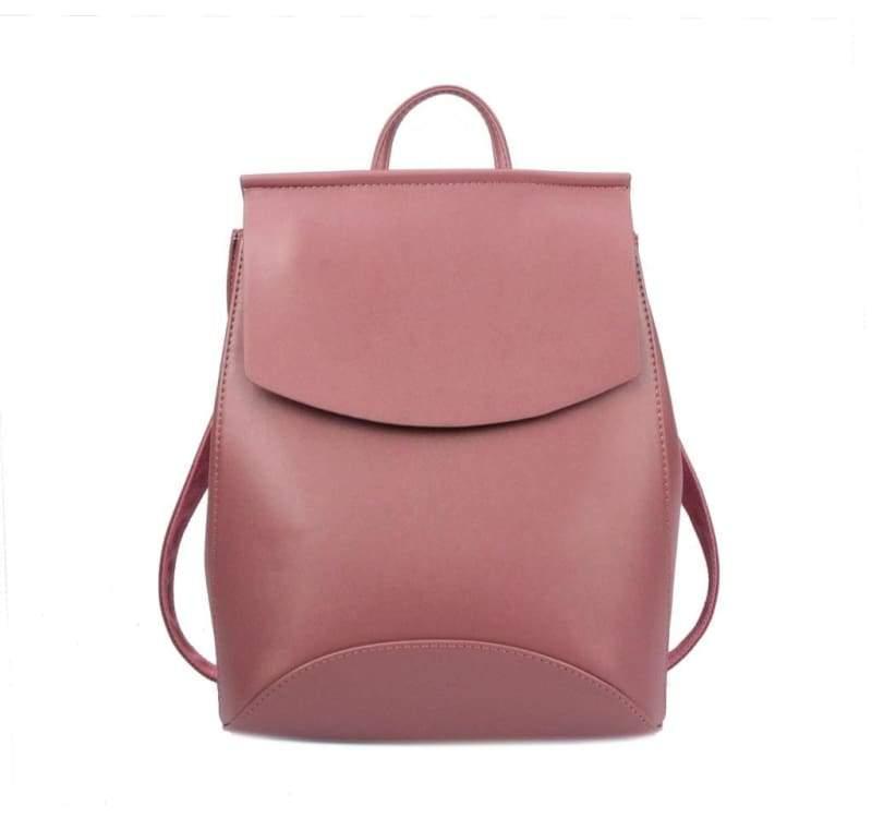 High Quality Women Backpack - Dark Pink new - Backpacks