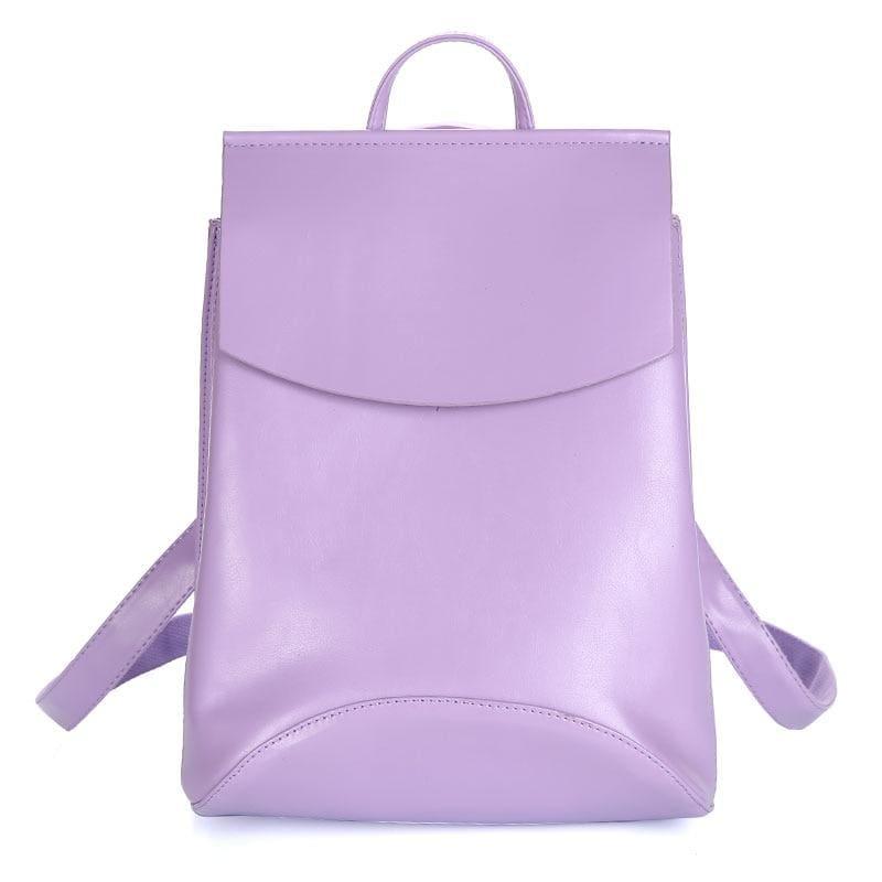 High Quality Women Backpack - Purple - Backpacks