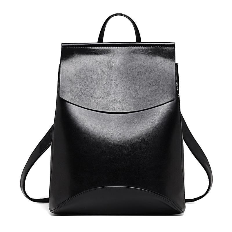 High Quality Women Backpack - Black - Backpacks