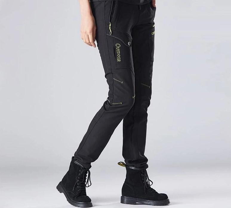 Hiking Pants Just For You - black pants / M - Hiking Pants1