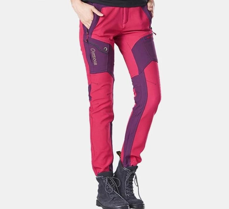 Hiking Pants Just For You - rose red pants / M - Hiking Pants1