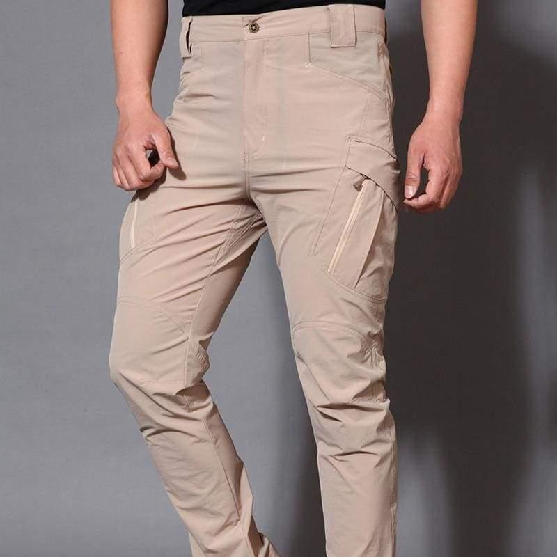 Hiking Pants Waterproof Just For You - ix9 khaki / S waist73 to 77cm - Hiking Pants1