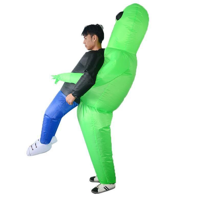 Inflatable Alien Halloween Costume - Alien Halloween Costume