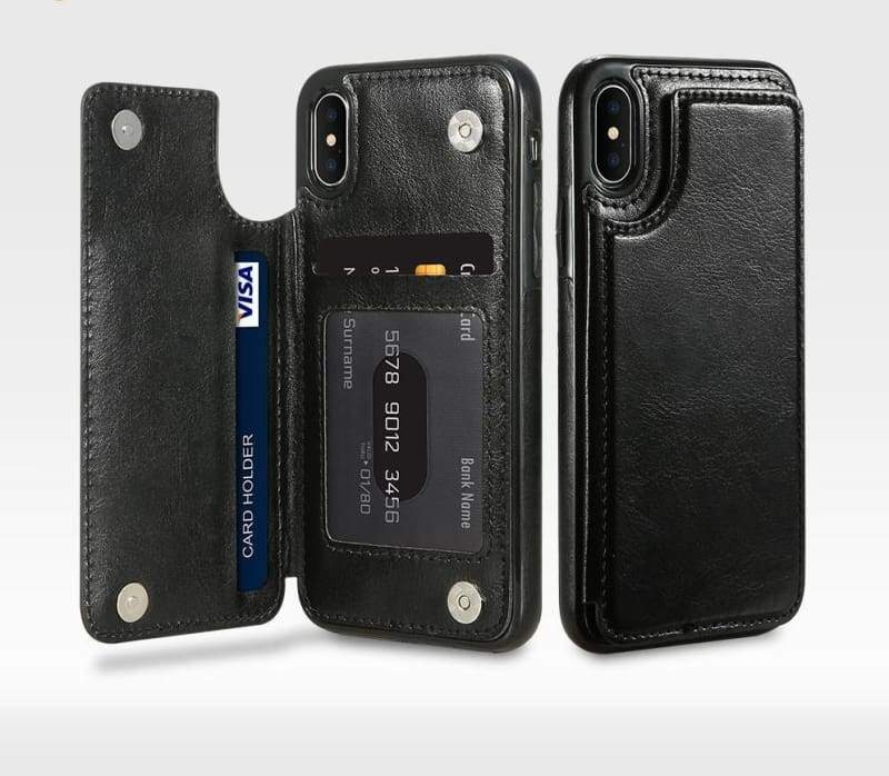 3 in 1 iphone cases Multifunctional wallet - Fitted Cases
