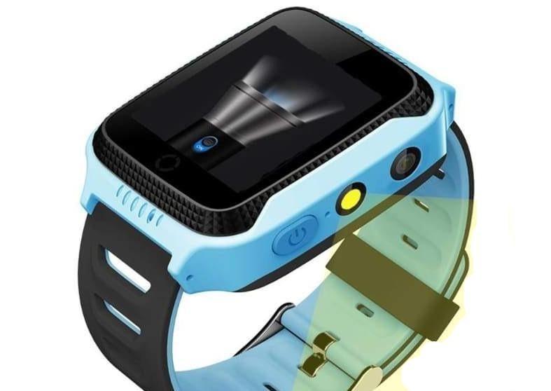 Kids Smart Phone Watch - Blue - kids smartwatch
