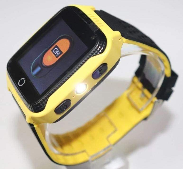 Kids Smart Phone Watch - Orange - kids smartwatch
