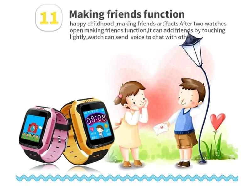 Kids Smart Phone Watch - kids smartwatch