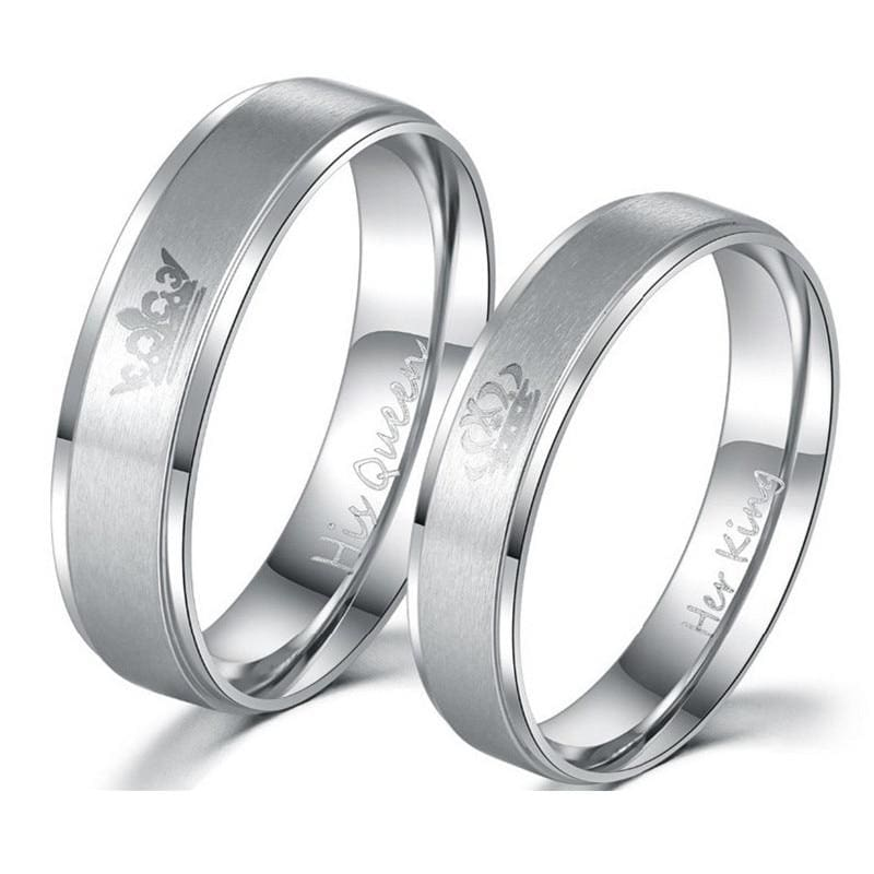 King and Queen Rings - Engagement Rings