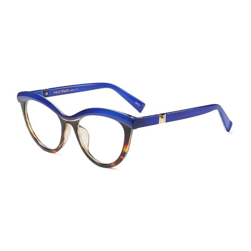 Ladies Eyebrows Square Glasses - 2 - Eyewear Frames