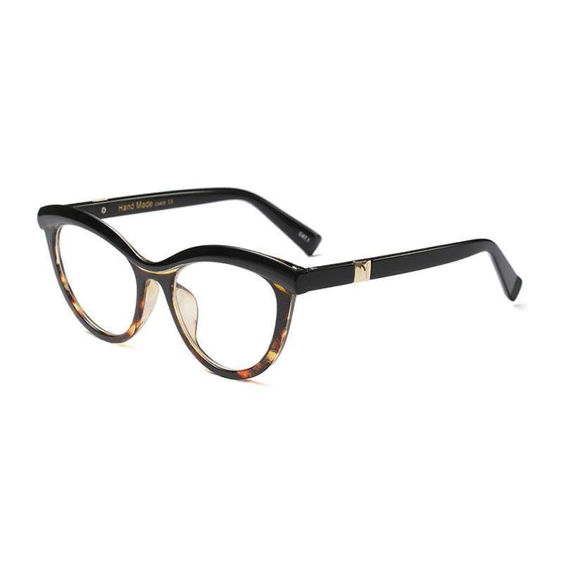 Ladies Eyebrows Square Glasses - 3 - Eyewear Frames