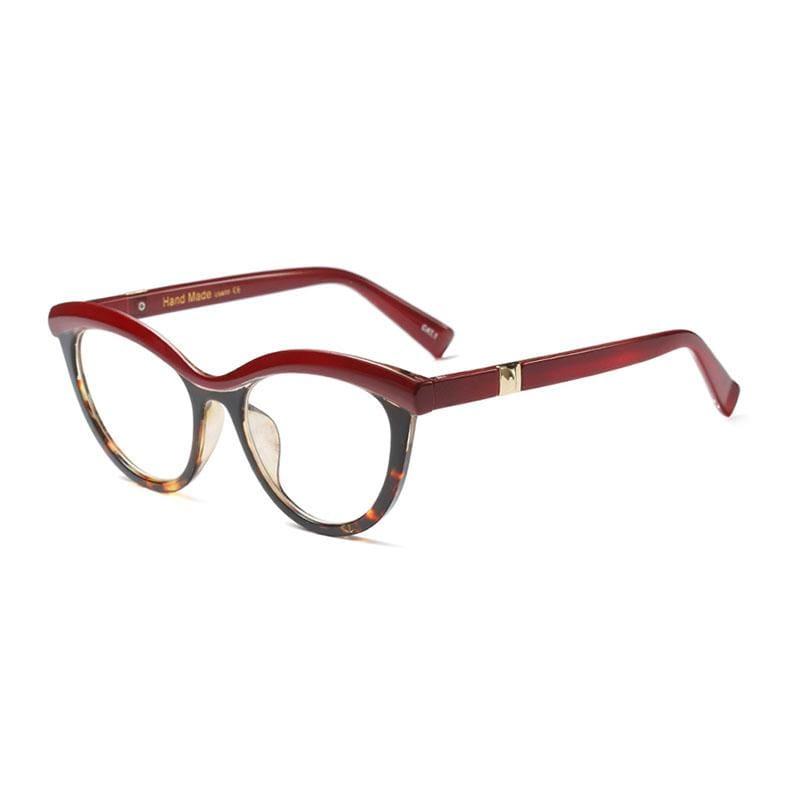 Ladies Eyebrows Square Glasses - 4 - Eyewear Frames