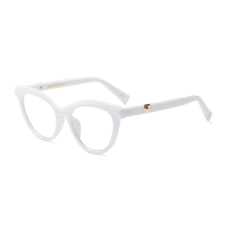 Ladies Eyebrows Square Glasses - 5 - Eyewear Frames
