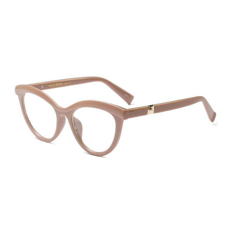 Ladies Eyebrows Square Glasses - 6 - Eyewear Frames