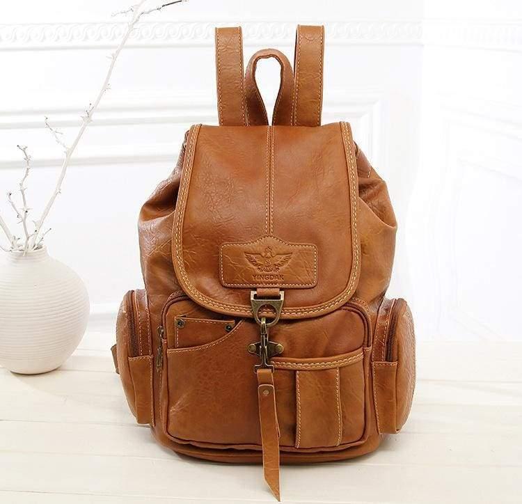 Leather vintage backpacks - Backpacks
