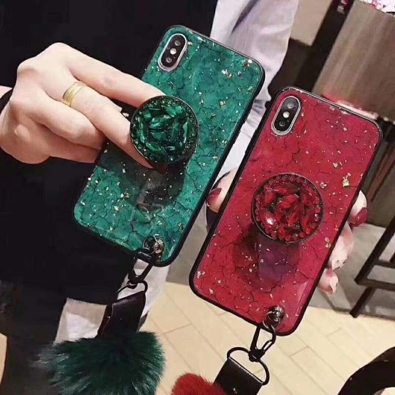 Luxury Diamond Phone Case - Fitted Cases