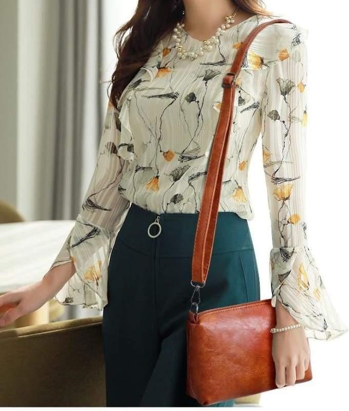 Luxury Leather Bag Set - Top-Handle Bags