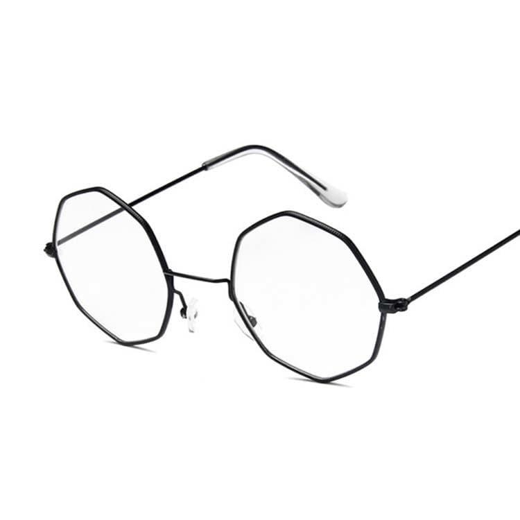 Luxury Octagon Sunglasses - Black - Sunglasses