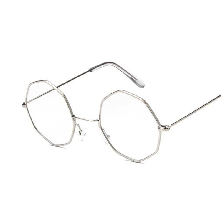 Luxury Octagon Sunglasses - Silver - Sunglasses
