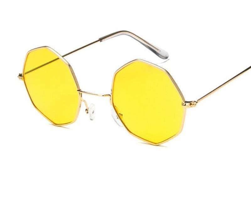 Luxury Octagon Sunglasses - Sunglasses
