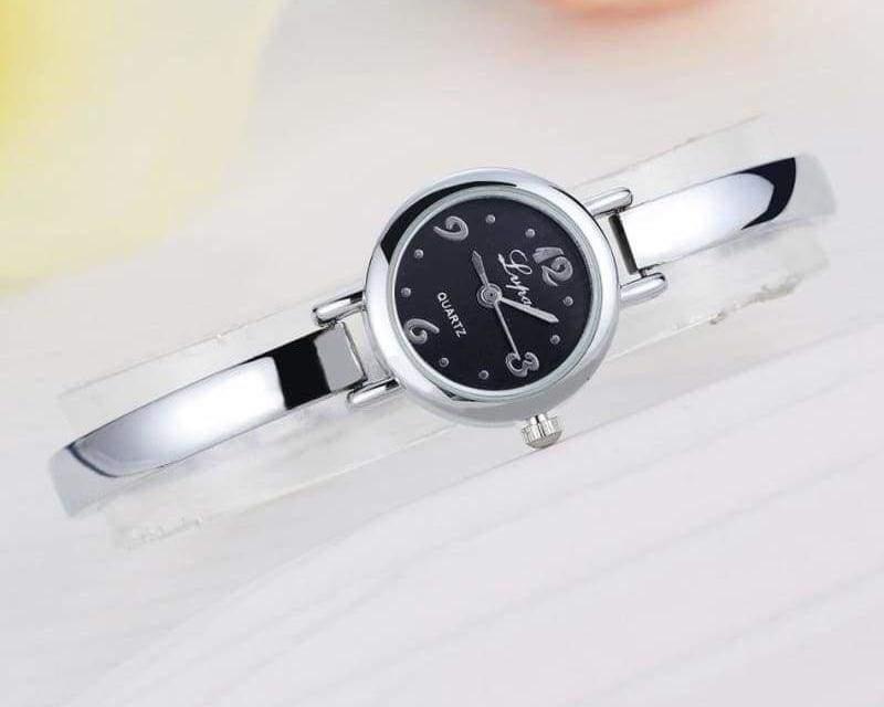 Luxury Women Bracelet Watches - Silver Black 4 - Womens Watches