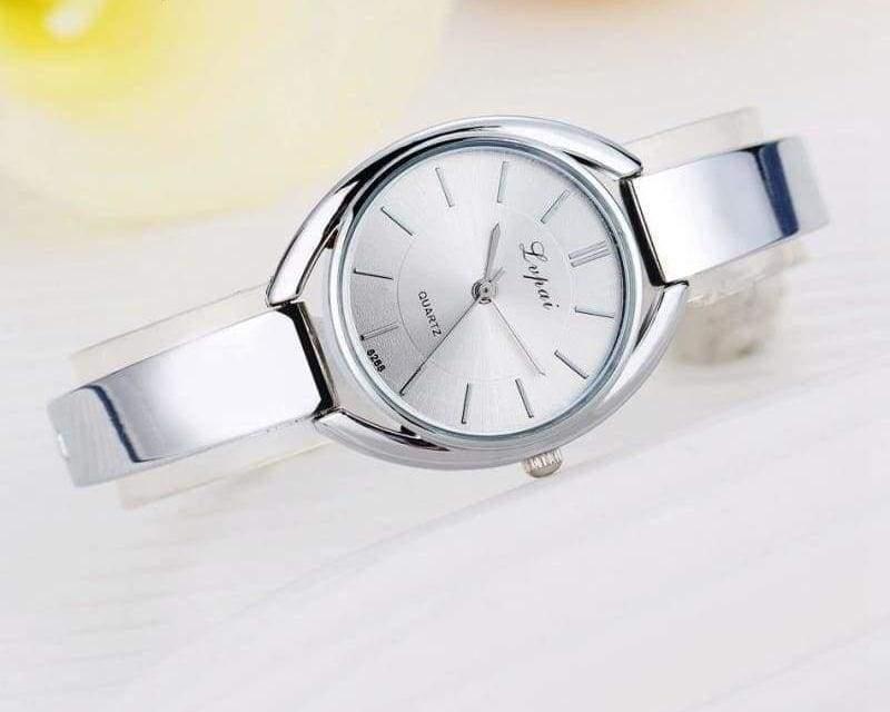 Luxury Women Bracelet Watches - Silver White 2 - Womens Watches