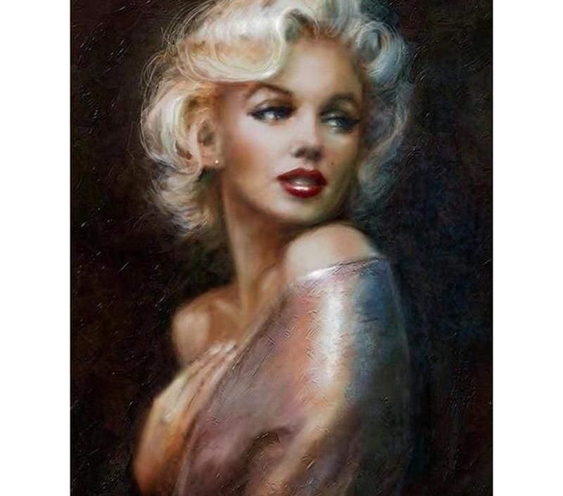 Marilyn Monroe diamond painting - Diamond Painting Cross Stitch