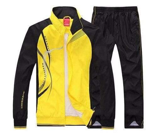 Men Sportswear Spring Autumn - yellow / L - Sportswear