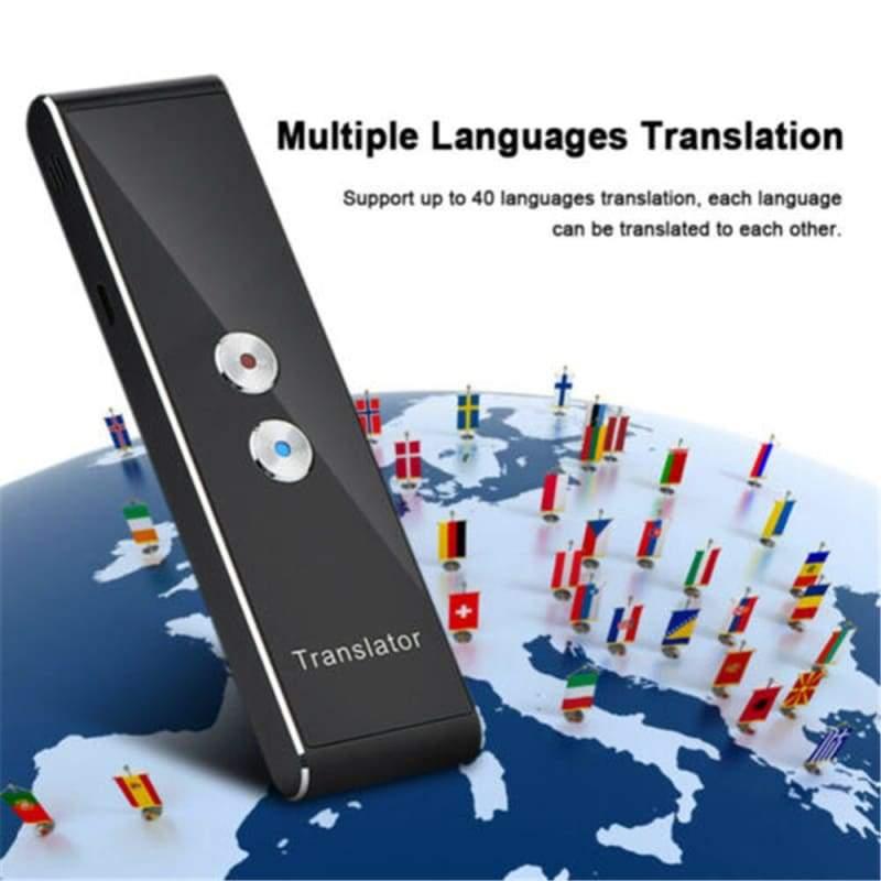 Mini Multi-Language Smart Translator 40 Languages - Translator