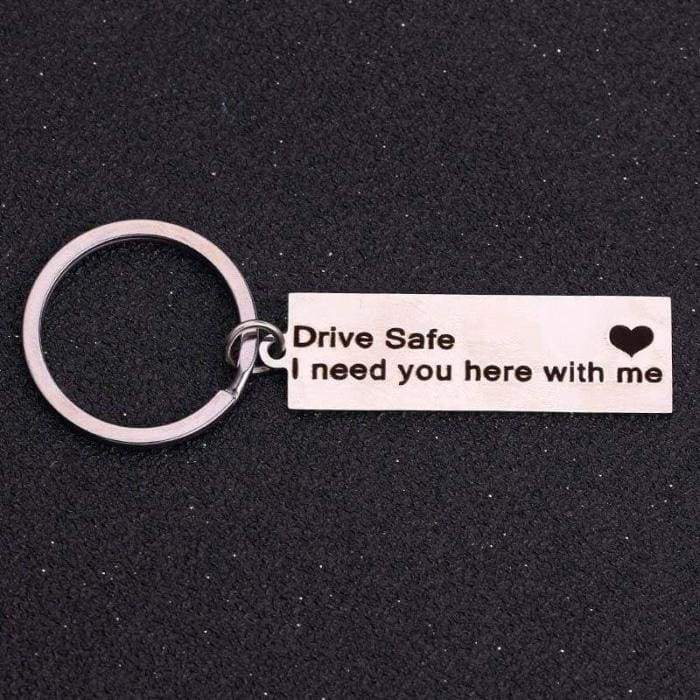 Moment in time keychain - drive safe - Key Chains