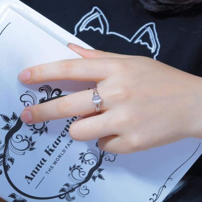 Moonstone Ring - Rings