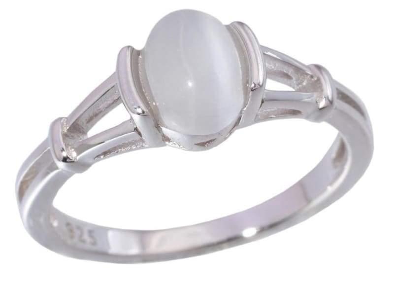 Moonstone Ring - 10 / White - Rings