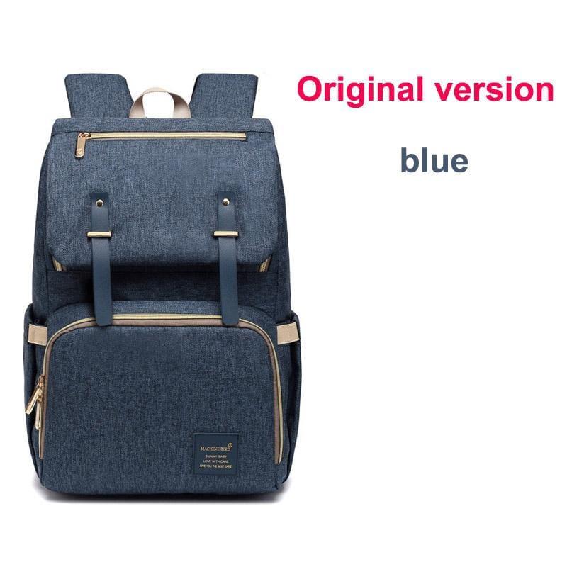 Multi-Function Diaper Bag - blue original versio - Diaper Bags