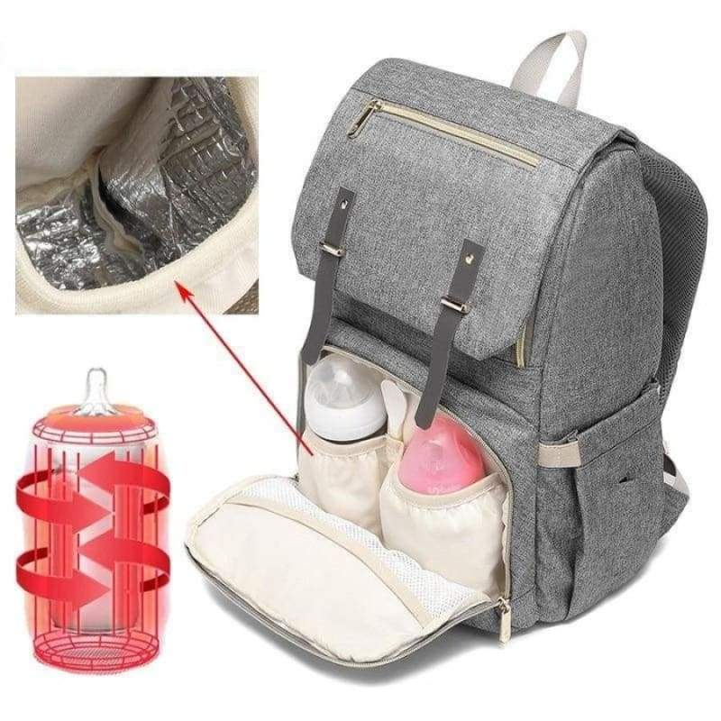 Multi-Function Diaper Bag - blue enhanced versio - Diaper Bags