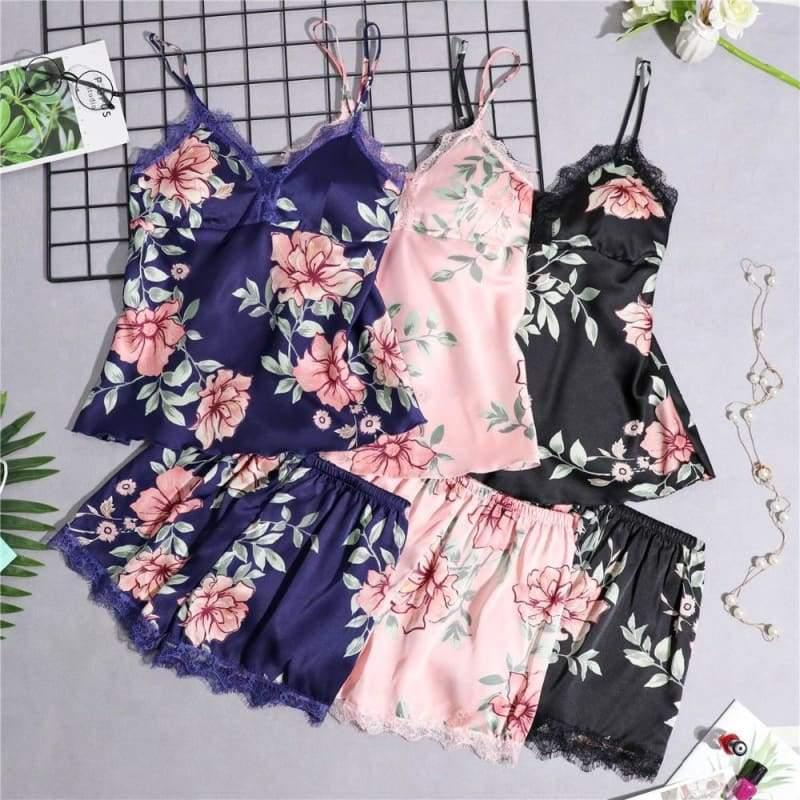 Nightie Sleepwear Lace Pajama Just For You - Women Clothing