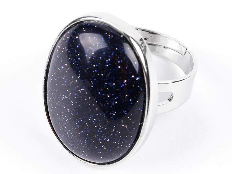 Amazing Oval gemstone ring - Blue Sand - Rings