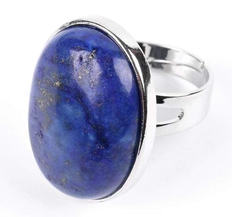 Amazing Oval gemstone ring - Lapis Lazuli - Rings